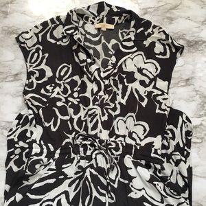 Ann Taylor LOFT | Mini Abstract Flower Dress